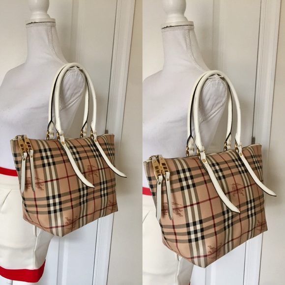 Burberry Handbags - Sale Authentic Burberry haymarket Salisbury tote 8fd5b942cbe98